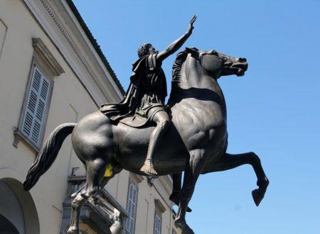 Il Regisole, teoderico a cavallo… fino a Pavia