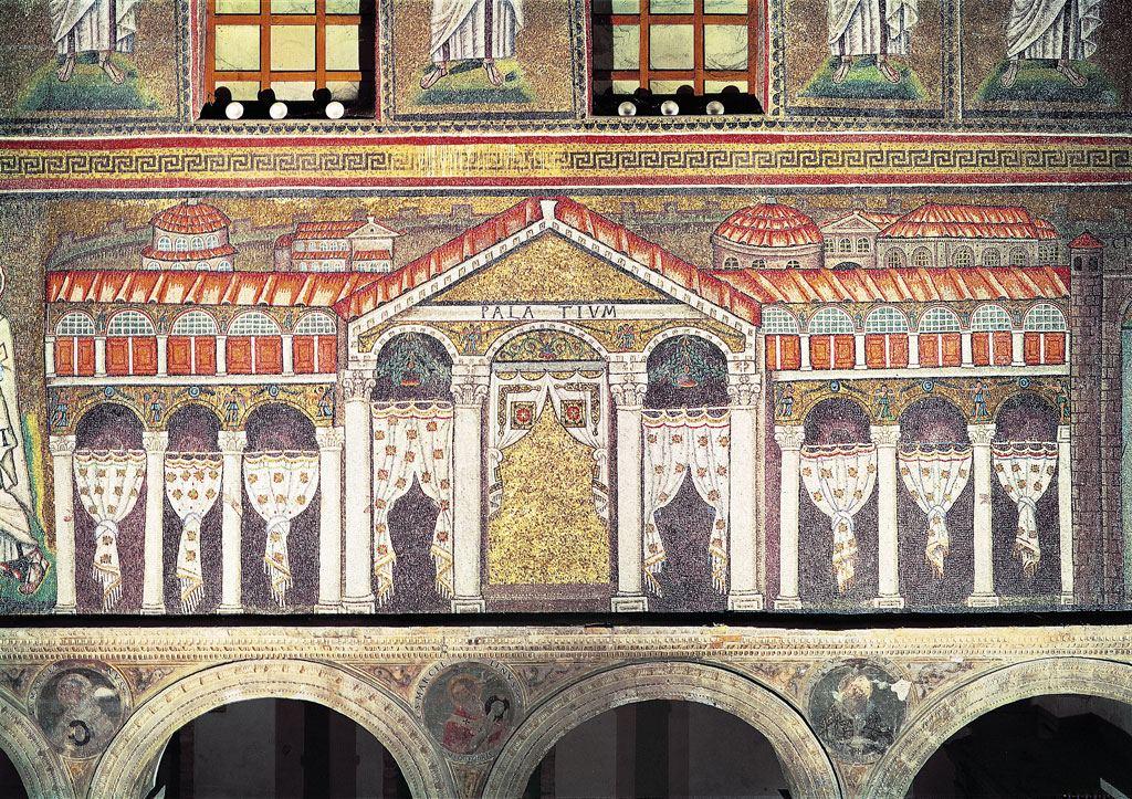 Palazzo di Teoderico mosaici di Sant'Apollinare Nuovo