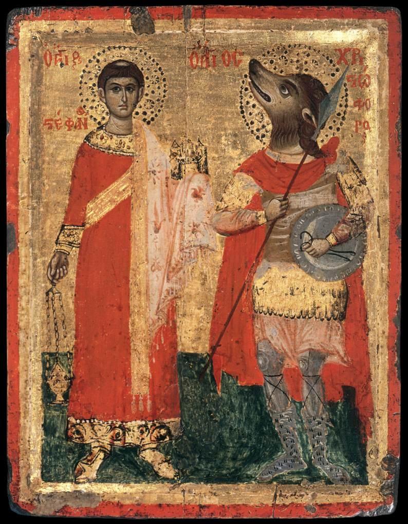 San Cristoforo come cinocefalo