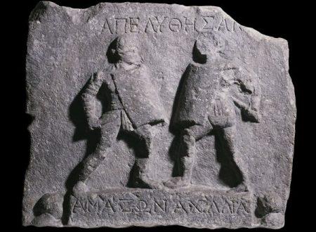 Achillea e Amazone, c'è chi nasce gladiatrice anche se donna